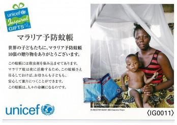 マラリア予防蚊張