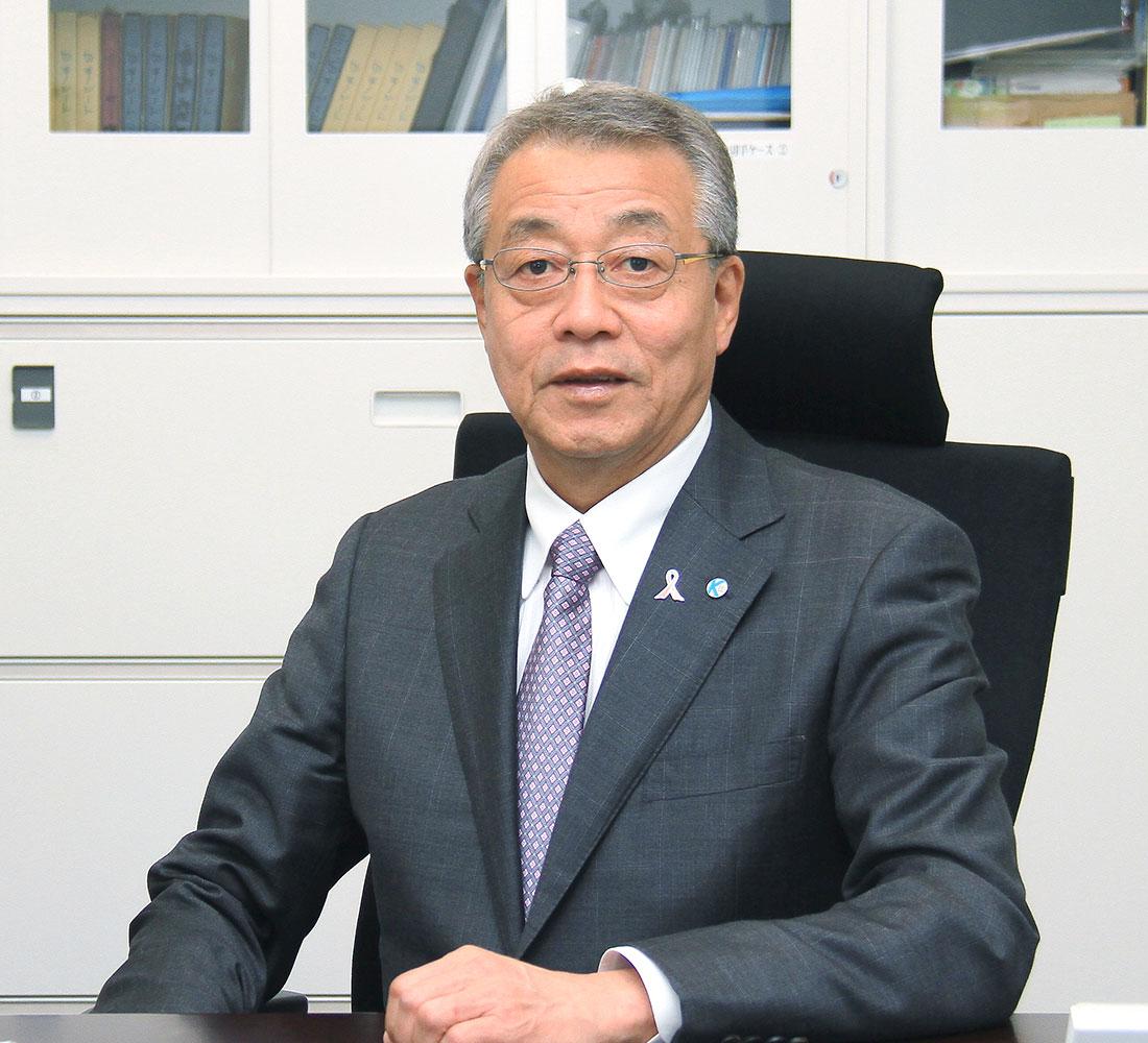 NPO法人東北建設技術普及会理事長 北村達雄
